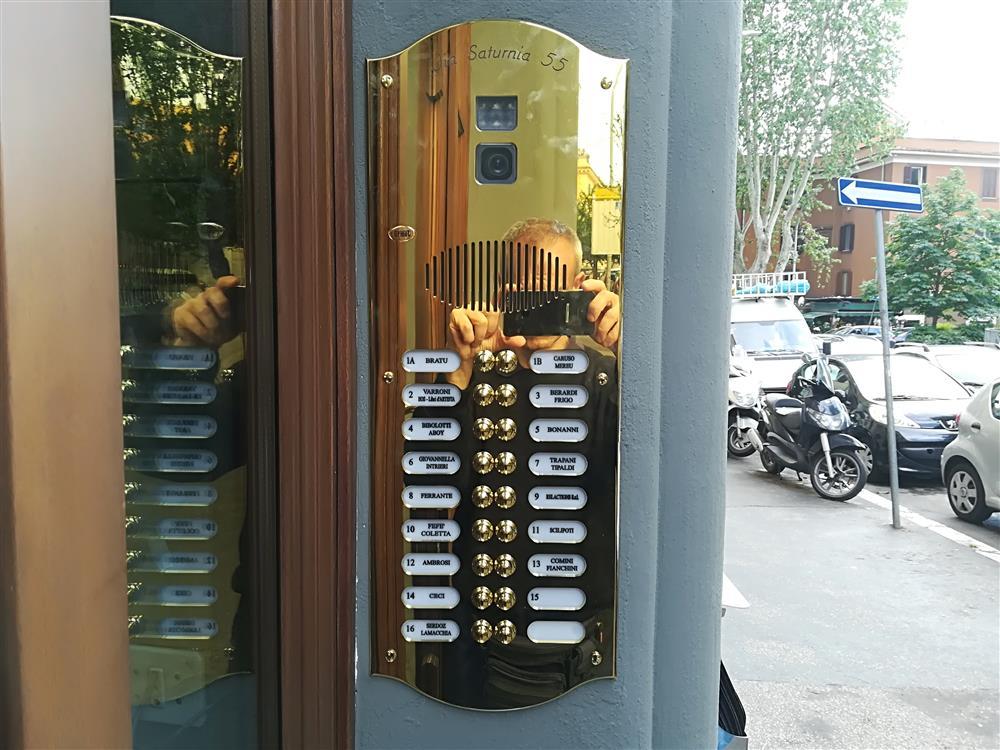 Paciacconi impianti elettrici roma for Videocitofono condominiale